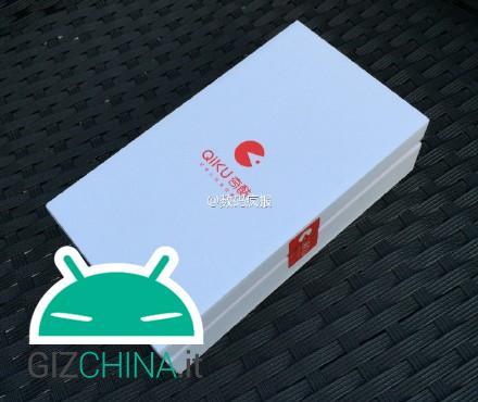 Box di vendita del Qiku Q1