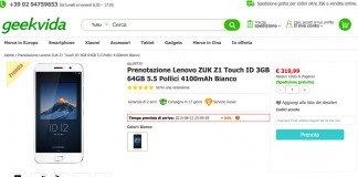 Zuk Z1 pré-encomenda