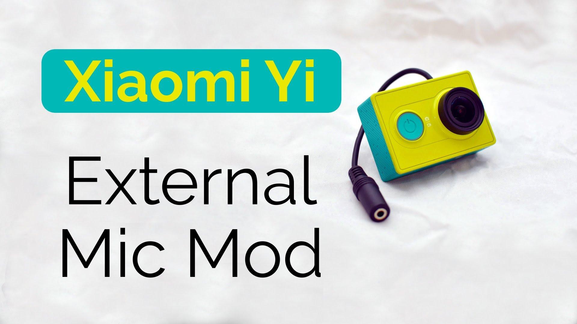 Ecco come collegare un microfono esterno alla xiaomi yi for Microfono esterno yi 4k