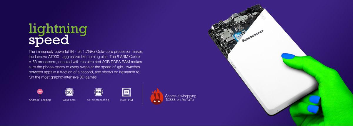 Lenovo A7000 Plus processore