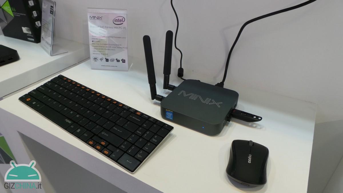 Minix Intel Braswell