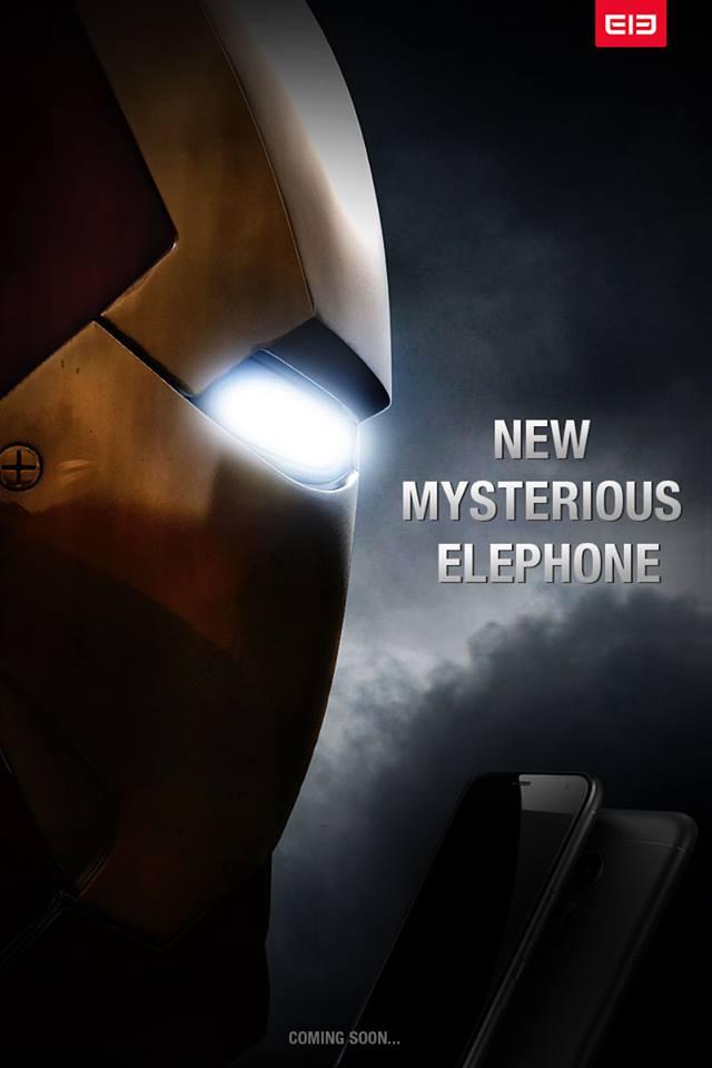 Homem de Ferro Elephone P9000