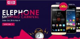 Carnaval de Compras Elephone