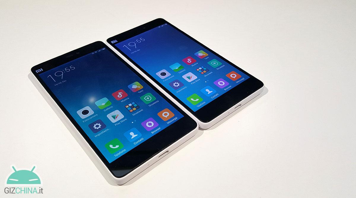 Xiaomi Mi 4c vs Xiaomi Mi 4i, the comparison of GizChinaIT