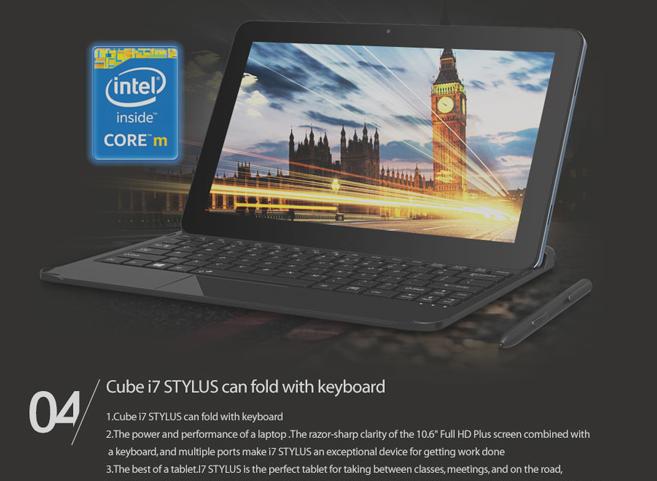 Cube i7 Stylus in offerta su GearBest.com con Intel Core M e 4 GB di ...