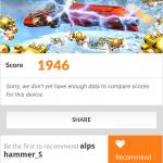 umi hammer s benchmark