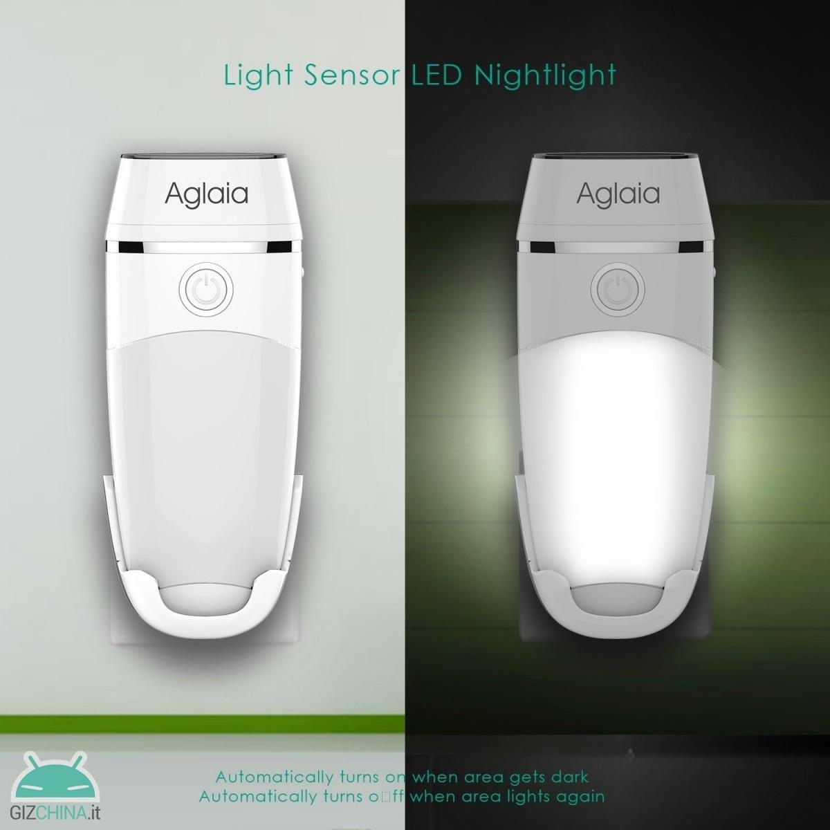 Aglaia LED Lâmpada Noturna