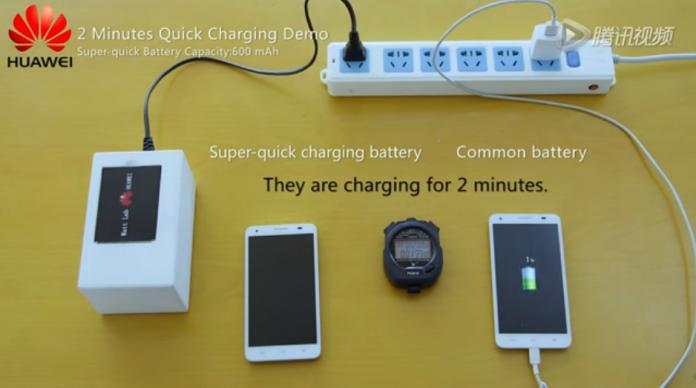 Prototipo de batería Huawei