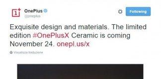 Oneplus X ceramica