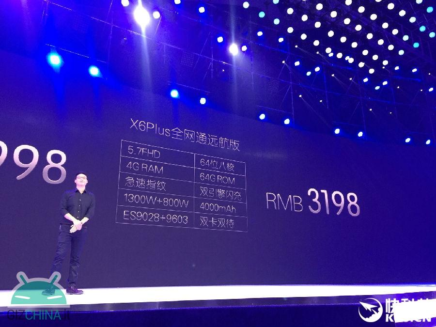 Vivo X6Plus