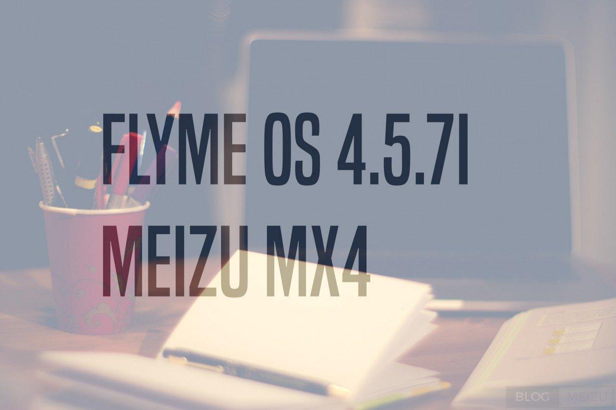 Flyme OS 4.5.7I