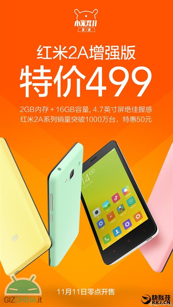 Xiaomi Redmi 2A Enhanced Edition