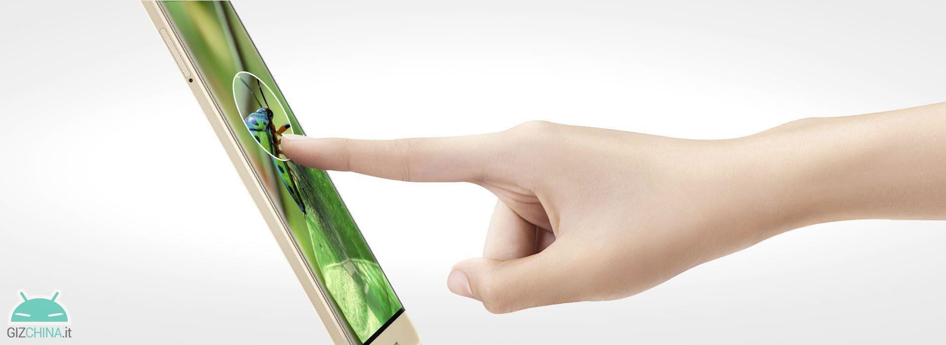 Toque de força do Huawei mate