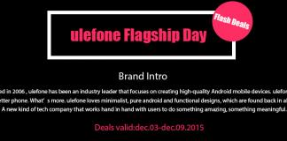 Ulefone flagship day