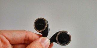 Vendo o fone de ouvido Bluetooth