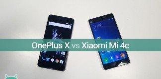 Xiaomi Mi 4c vs OnePlus X