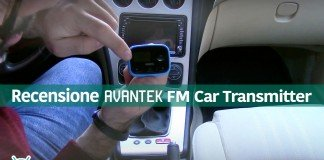 Transmissor de Carro Avantek FM