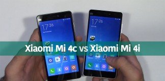 Xiaomi Mi 4c vs Xiaomi Mi 4i