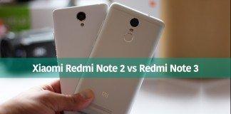 Xiaomi Redmi Note 3 vs Redmi Note 2