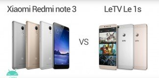 Xiaomi Redmi note 3 vs LeTV Le 1s