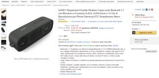 Aukey speaker portatile bluetooth