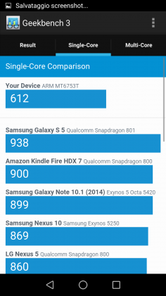 Leagoo Shark 1 Benchmark