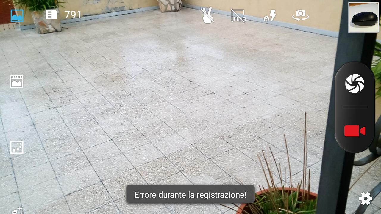 UMI-Roma-X-câmera de erro