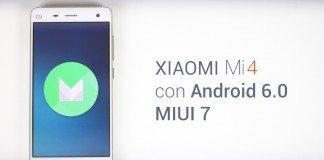 Xiaomi Mi 4 Android 6.0