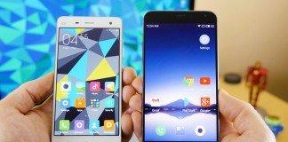 Xiaomi y meizu