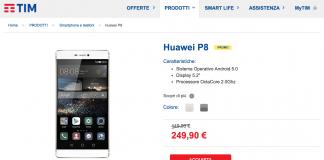Huawei P8 Offeta TIM