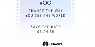 Prova do evento Huawei P9