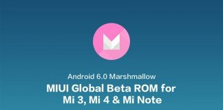 Miui Global beta Marshmallow