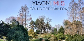 Câmera de foco Xiaomi mi 5