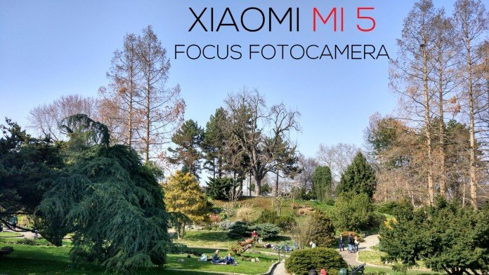 Xiaomi mi 5 focus fotocamera