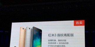 Leitor de impressão digital Xiaomi redmi 3