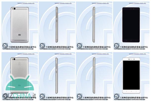 Xiaomi redmi 3a 3s