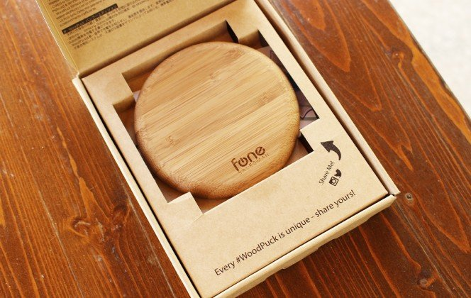 FoneSalesman Wireless Charger Bamboo