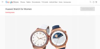 Huawei Watch donne