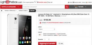 لينوفو K4 ملاحظات عرض LightInTheBox