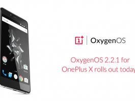 Oxygen OS 2.2.1 Oneplus X