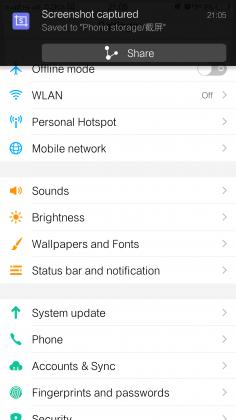 Vivo Xplay 5 Software