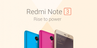 Xiaomi Redmi Notes 3 Índia