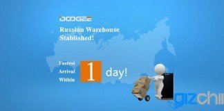 Doogee magazzini in Russia