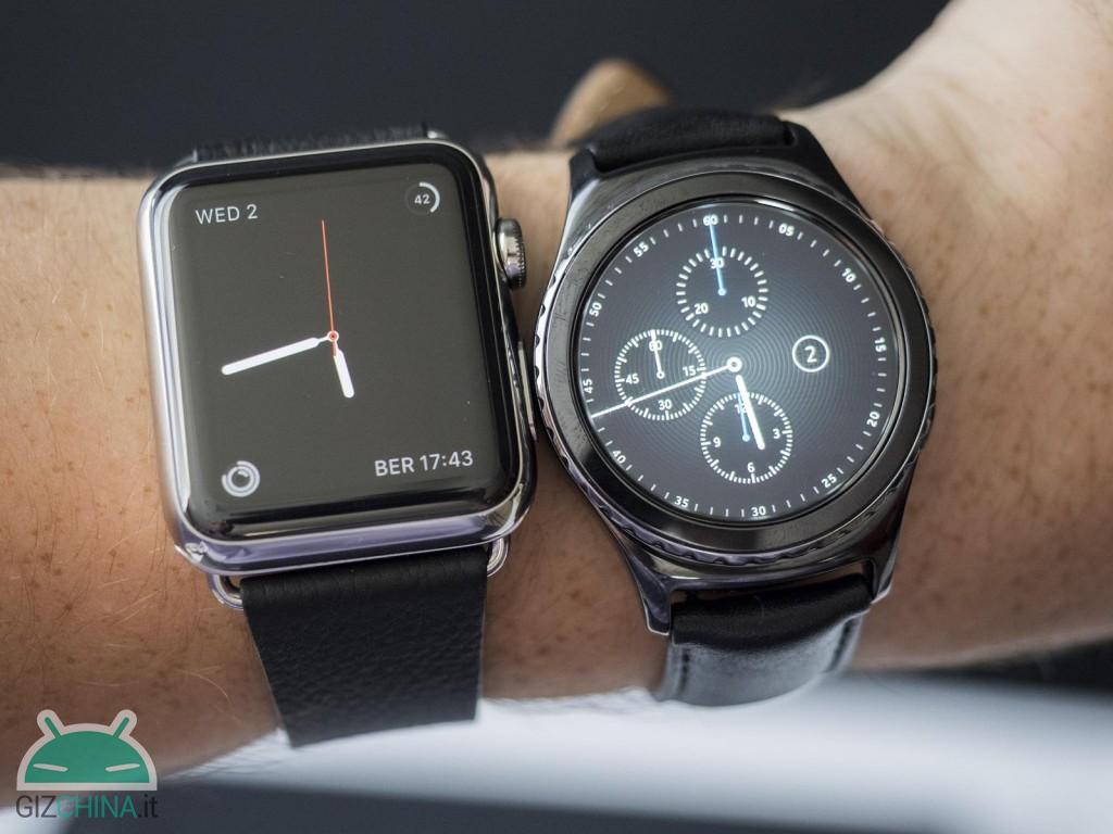 Apple watch samsung gear 2