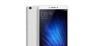 Xiaomi Max rendering