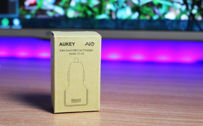 Aukey Dual Car Charger