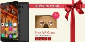 Elephone P9000 visore VR
