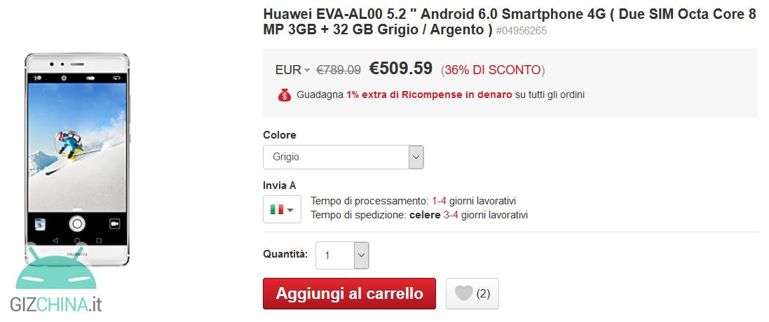 Huawei P9 LighInTheBox