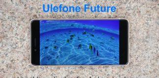 Ulefone Futuro desempenho de exibição