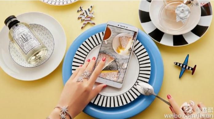 Xiaomi Mi Max CEO teaser